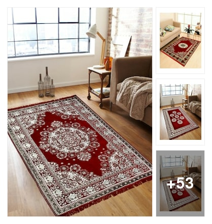 New carpets available only on limeroad. Online shopping look by Reena