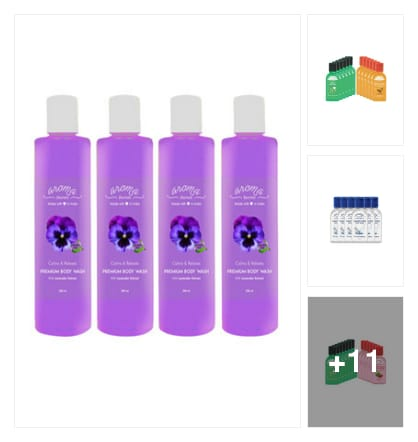 Body lotions. Online shopping look by nandan