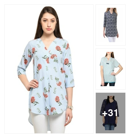 "This summer must try these Kurt's/tunic. Online shopping look by Trends update by ""Sheetal Thakur"""