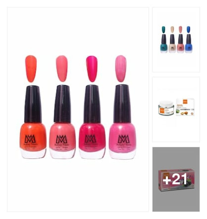 Beauty sets and combos. Online shopping look by Satish Kumar