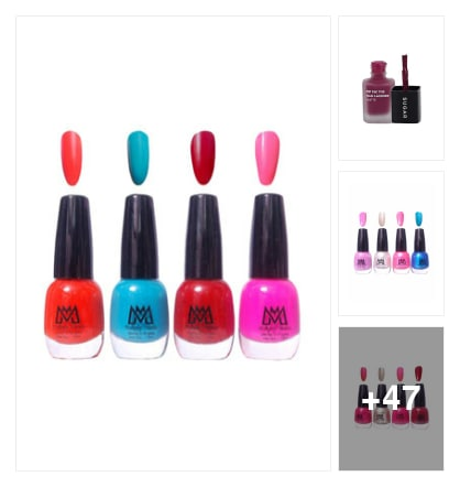 Nail polish. Online shopping look by Teju
