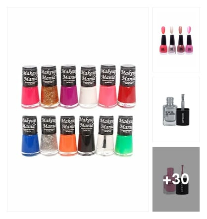Nailpolish. Online shopping look by Sree reddy