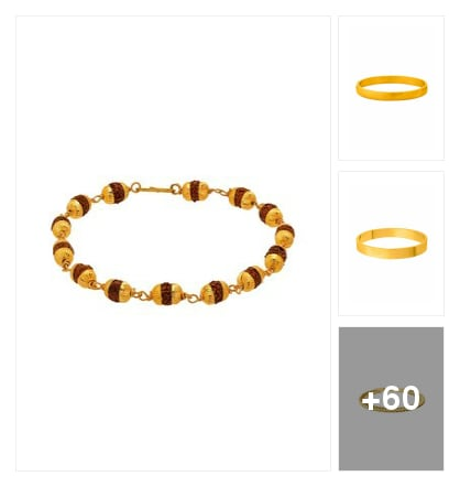 Simple looking bracelet. Online shopping look by sravani