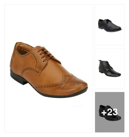 Formal shoes. Online shopping look by Satish Kumar