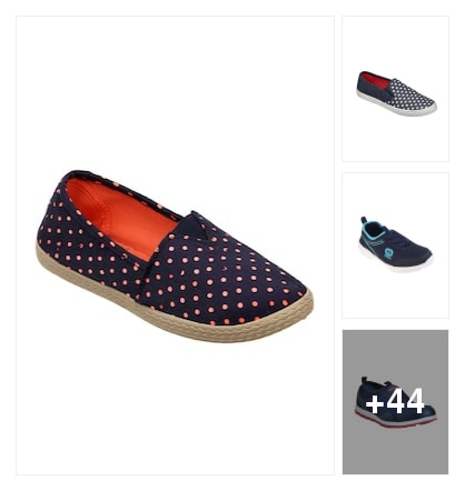 Casual shoes for ladies. Online shopping look by vinod