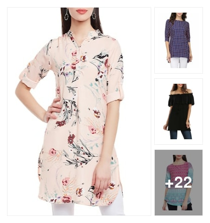 Fresh Collection of Tunics for Women. Online shopping look by SriLatha