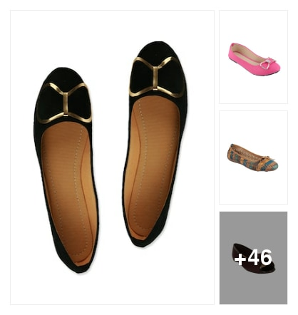 The Bow Embellished Flats........ Online shopping look by Varnika