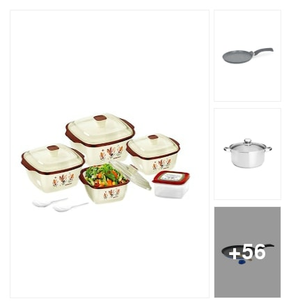TRENDY COOKWARE. Online shopping look by vidya
