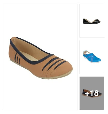 Flats . Online shopping look by keerthi