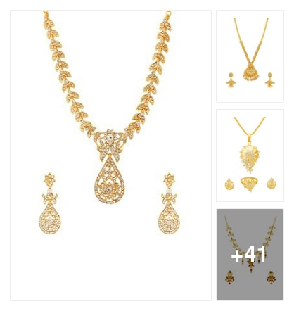 LAtes jewellery collection here . Online shopping look by Geeta