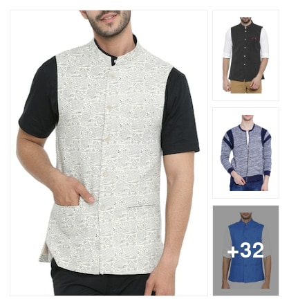 Comfort & Stylish Look With These Cotton jackets. Online shopping look by Devi