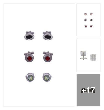 Cufflinks . Online shopping look by keerthi