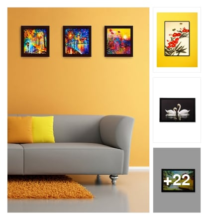Paintings and posters . Online shopping look by keerthi