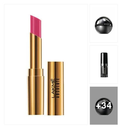 Lakme products. Online shopping look by Manogna