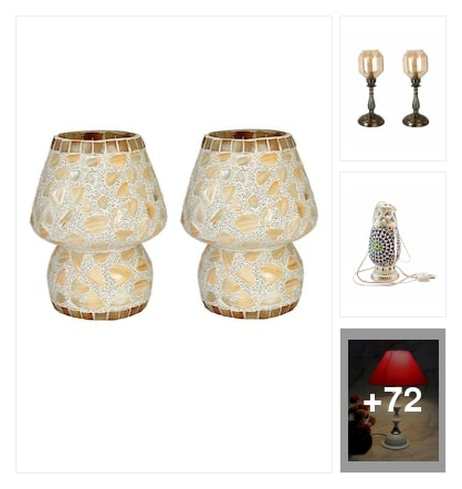 Decorative lights. Online shopping look by Rishikeshreddy
