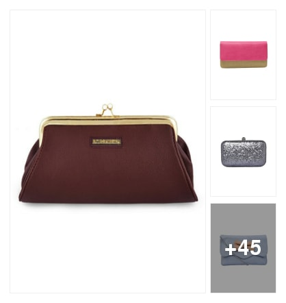 Nice clutches. Online shopping look by kalpana
