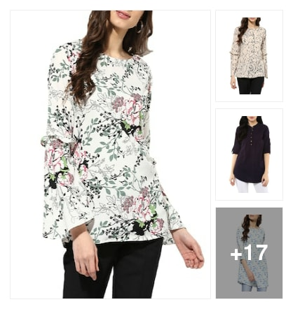 Trending Tunics!!. Online shopping look by mansi