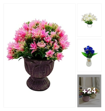 Vases and flowers. Online shopping look by keerthi