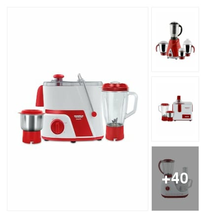 Jmg mixer and grinder jucier for easy lock system . Online shopping look by konda