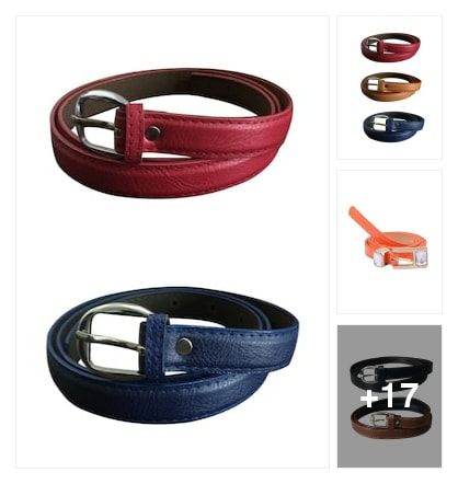 Belts . Online shopping look by keerthi