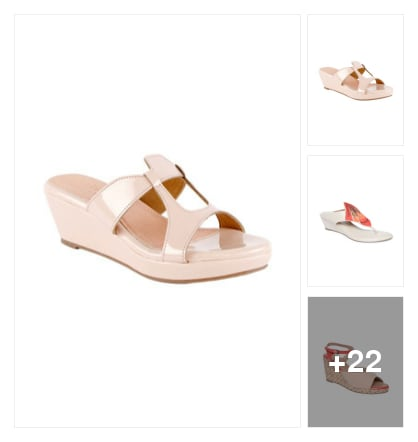 Wedges. Online shopping look by Teju