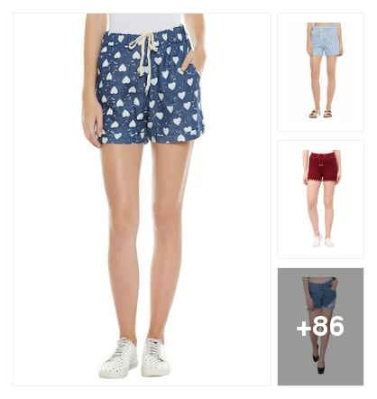 Summer Smarty Shorts. Online shopping look by Sunita