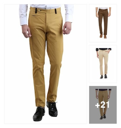 Casual trousers. Online shopping look by keerthi