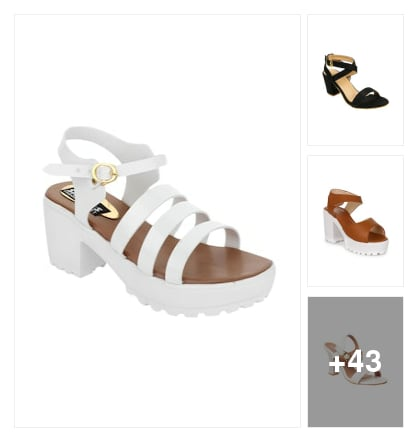 Ankle strap footwear . Online shopping look by Tiny