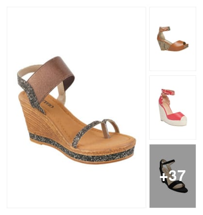 Latest design in wedges . Online shopping look by Tiny