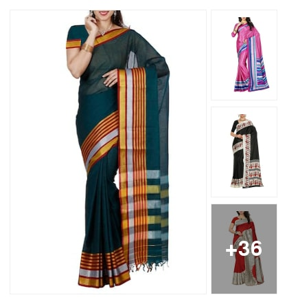 Sarees. Online shopping look by Nivedha gupta