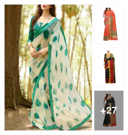 Sarees. Online shopping look by Ruchika