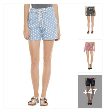 Top picks : Summer shorts . Online shopping look by Pankh