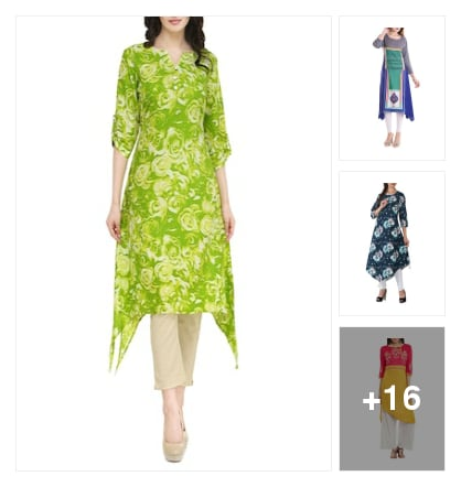Keep it cool rayon kurtas. Online shopping look by kavita