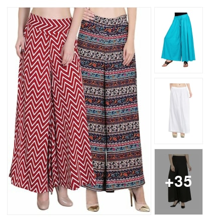 Palazzos. Online shopping look by Jai