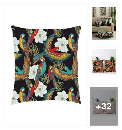 Top pick : Quirky and sweet cushions . Online shopping look by Pankh