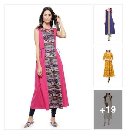 Beautiful kurtas. Online shopping look by Kriti