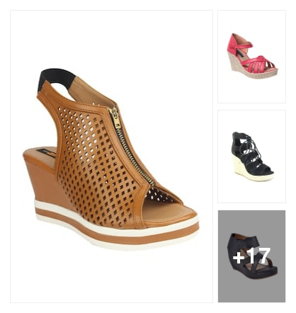 Wedges. Online shopping look by Vanisha  Singh
