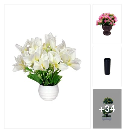 Vases& flowers. Online shopping look by Hitler