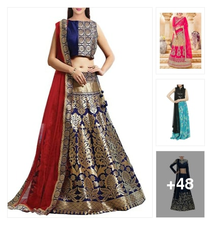 Beautiful Lehengas collection. Online shopping look by nikku.gupta512