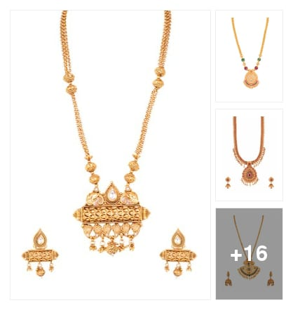 Neckpieces. Online shopping look by keerthi