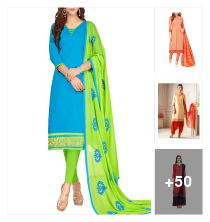 Best selling  suit dress material. Online shopping look by santhi