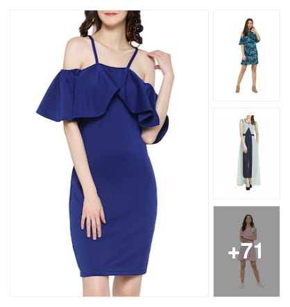 dresses. Online shopping look by sunitha