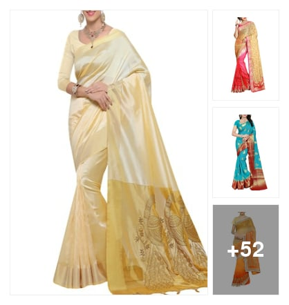 Exclusive sarees collection. Online shopping look by kavita