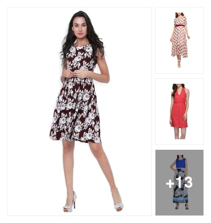Dresses. Online shopping look by keerthi