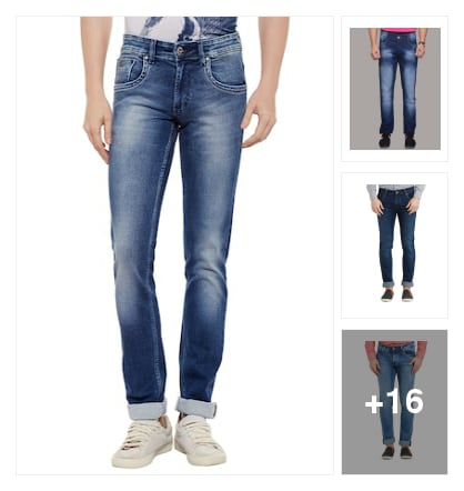 Jeans. Online shopping look by chandu