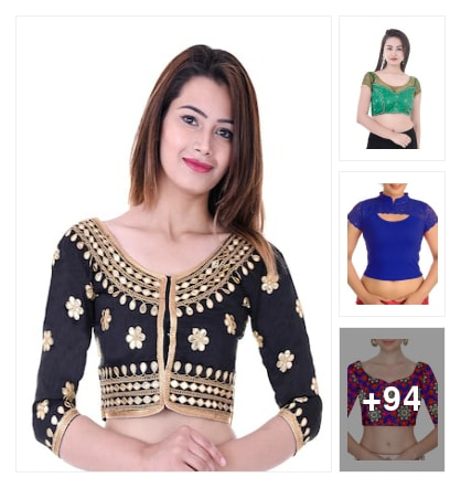 Blouses in Budget. Online shopping look by kavita