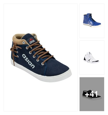 Stylish sneakers . Online shopping look by Praneeth Kumar