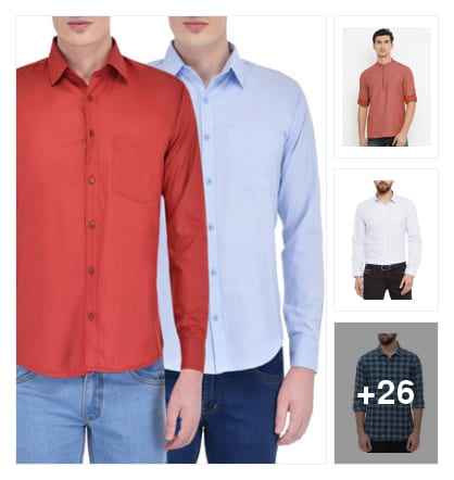 Shirts. Online shopping look by keerthi