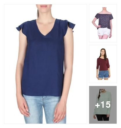 Tops. Online shopping look by keerthi