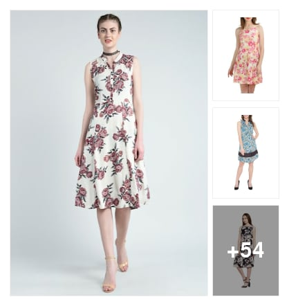 Summer Dresses To Style In...... Online shopping look by Varnika